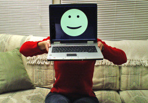 dementiainduct.eu image: laptop with a smile